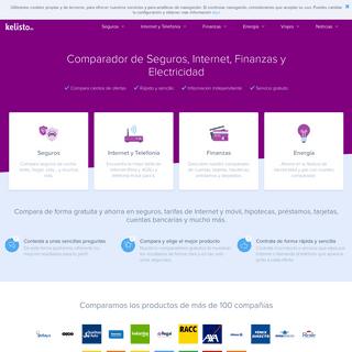 Comparador de seguros y más - Ahorra en Internet y finanzas