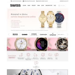 Zegarki - sklep z zegarkami – Swiss