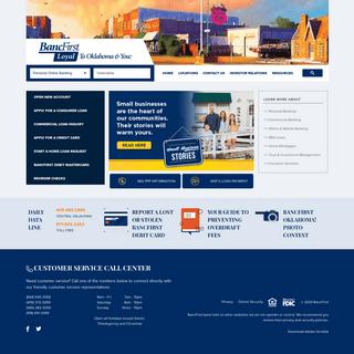 Homepage - BancFirst of Oklahoma