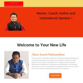 Suresh Padmanabhan – Discover YourSelf with Suresh Padmanabhan