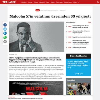 ArchiveBay.com - www.trthaber.com/haber/dunya/malcolm-xin-vefatinin-uzerinden-55-yil-gecti-462232.html - Malcolm X'in vefatının üzerinden 55 yıl geçti
