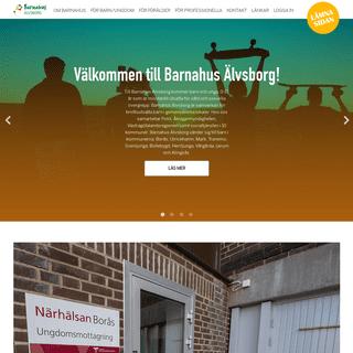 Start - Barnahus Älvsborg