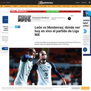 León vs Monterrey; dónde ver hoy en vivo el partido de Liga MX - Mediotiempo