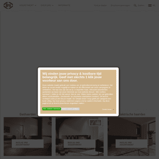 DRU - Sfeervolle gashaarden en houtkachels