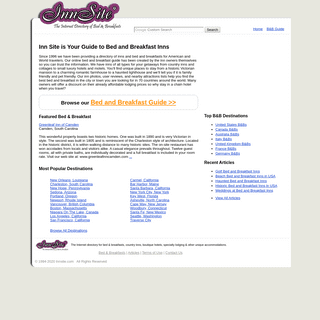 Inns and Bed and Breakfast Directory - InnSite.com