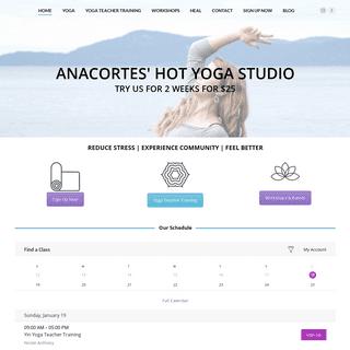 Anacortes Hot Yoga