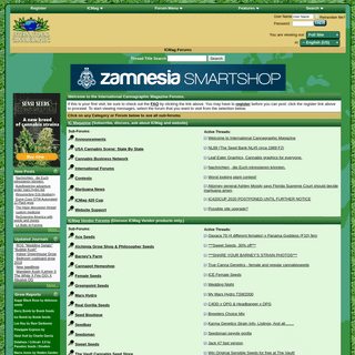 International Cannagraphic Magazine Forums - powered by weed