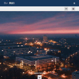 Willkommen an der Ruhr-Universität Bochum - Ruhr-Universit..t Bochum - menschlich - weltoffen - leistungsstark