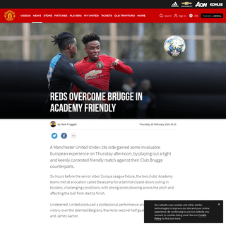 ArchiveBay.com - www.manutd.com/en/news/detail/academy-friendly-club-brugge-0-manchester-united-2-match-report - Academy friendly Club Brugge 0 Manchester United 2 match report - Manchester United