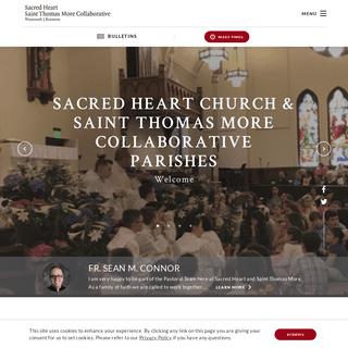Homepage - Sacred Heart & Saint Thomas More Collaborative