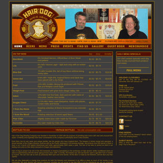 ArchiveBay.com - hairofthedog.com - Hair of the Dog Brewing Company Home Page