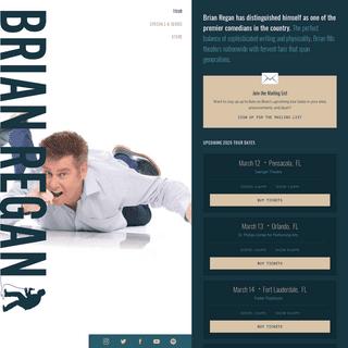 Brian Regan- The Official Site