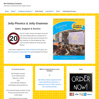 ArchiveBay.com - beereading.com - Bee Reading Company – Jolly Phonics & Jolly Grammar Sales, Support & Service!