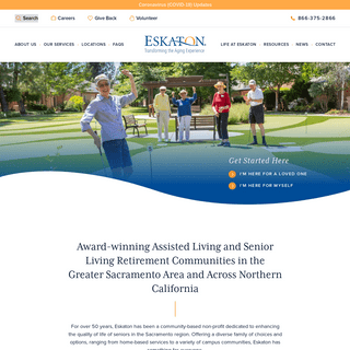 Eskaton - Senior Care & Services - Northern CA