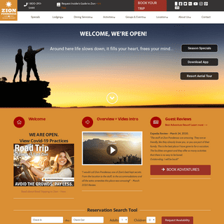 ArchiveBay.com - zionponderosa.com - Zion Ponderosa Ranch Resort - Zion National Park Resort