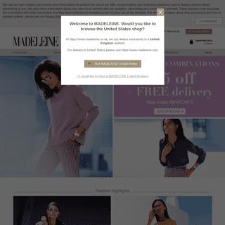 Discover the world of MADELEINE - Exquisite women's fashion - MADELEINE Fashion