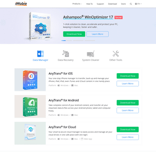 ArchiveBay.com - imobie-resource.com - [Official]iMobie Product Center - Get AnyTrans, PhoneClean, PhoneRescue, MacClean for Free