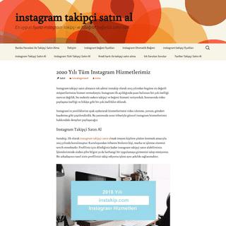 Instakip - Instagram Takipçi Satın Al