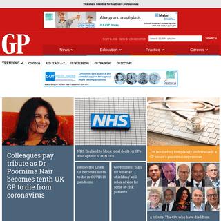 GP magazine news, medical education, CPD and GP jobs - GPonline