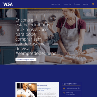 Produtos e serviços de pagamento digital - Visa