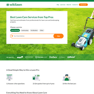 WikiLawn - Lawn Care Advice for your Area - Outdoor Services