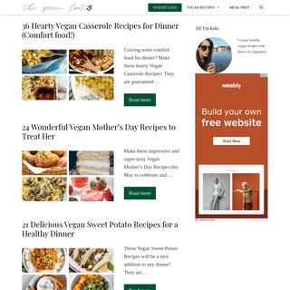 ArchiveBay.com - thegreenloot.com - The Green Loot - Healthy Vegan Recipes