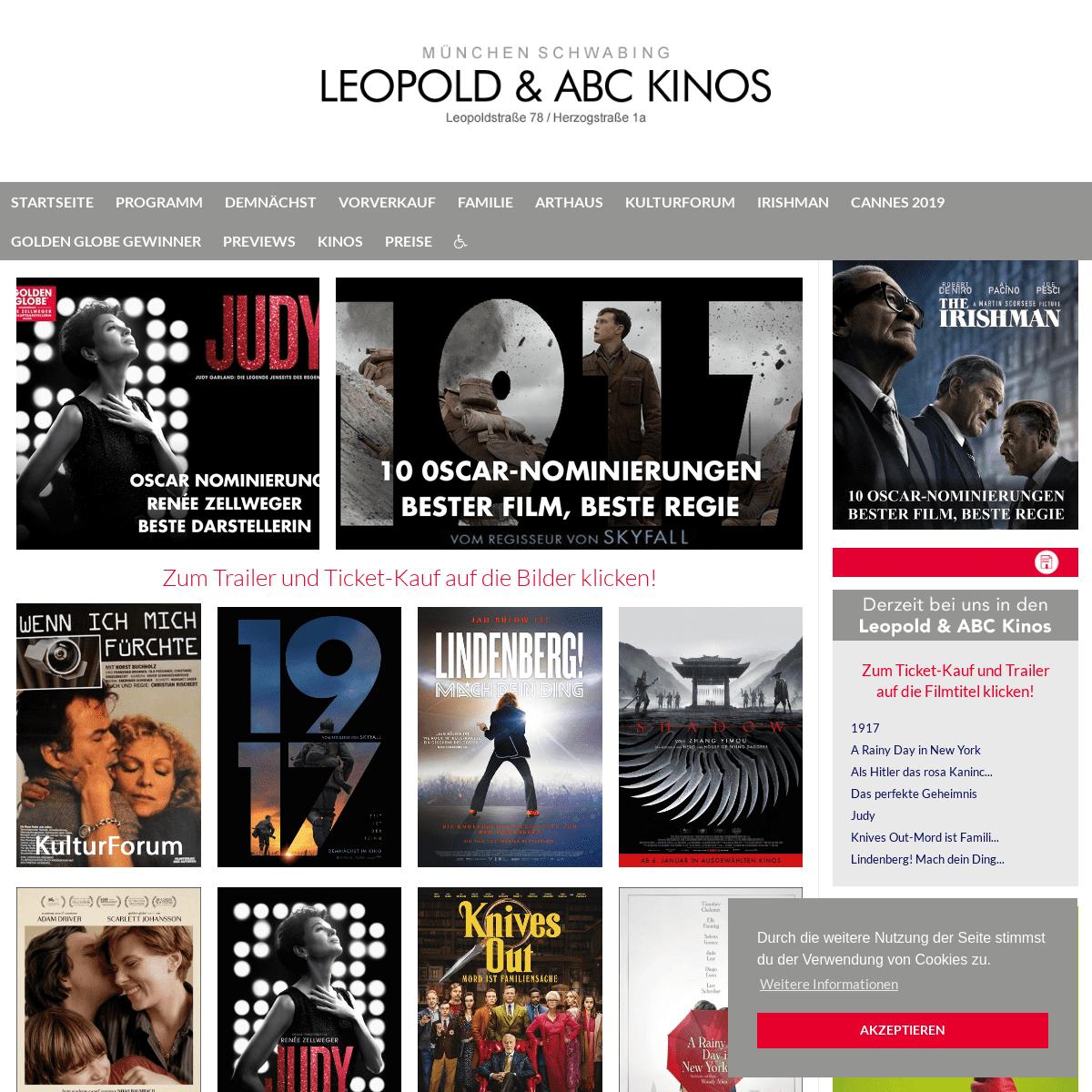 Leopold Kinos Programm
