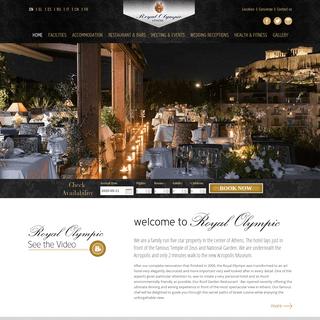 ArchiveBay.com - royalolympic.com - Athens hotel Royal Olympic - Luxury Athens five star hotel