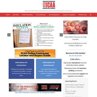 Home - Insulation Contractors Association of America