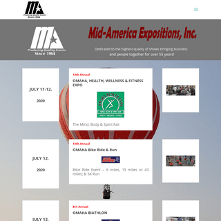 Mid-America Expositions, Inc. - Producing Quality Trade Shows & Events for Over 50 Years