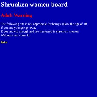 ArchiveBay.com - shrunken-women-board.com - Shrunken women board