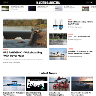 Wakeboarding, Wakeboard Gear, Videos, Tips, Photos - Wakeboarding Magazine