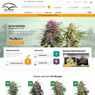 Dutch Passion - Cannabis Seed Bank Since 1987