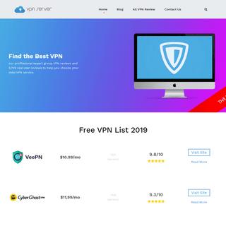 The 9 Best Free VPN Service Reviews 2019 - VPN Server