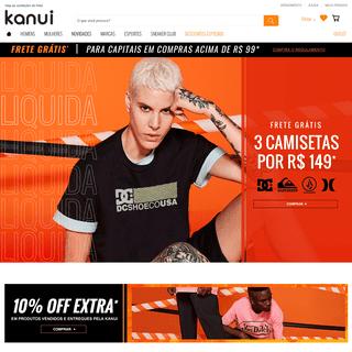 Kanui - Ofertas - Tênis, Roupas Esportivas, Acessórios e Mais.