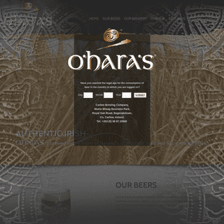 O'Hara's - Carlow Brewing Company