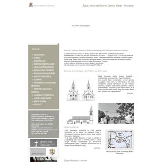 ArchiveBay.com - zupa-nevesinje.com - župa Uznesenja BDM - Nevesinje