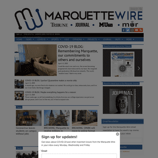 Marquette Wire – The student news site of Marquette University
