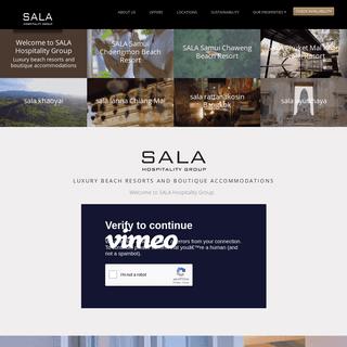 SALA Hospitality Group - 5 Star Resorts - Thailand Luxury Hotels