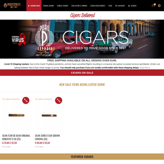 Puroexpress – Delivering Cuban Cigars to your door since 1997