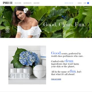 PHLUR - Good. Clean. Fun.