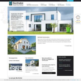 Constructeur maison Loire Atlantique (44), Vendée (85), constructeur Nantes - Berthelot Constructions