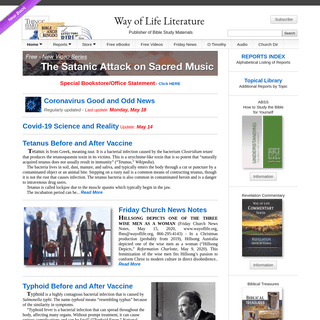 Way of Life Literature - Home Page