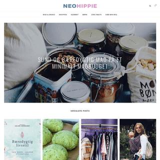 ArchiveBay.com - neohippie.dk - NeoHippie - Naturligt, bæredygtigt og vegansk