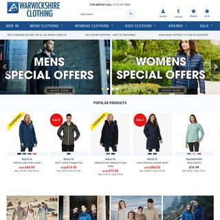 Outdoor Clothing For Men & Women - Warwickshire Clothing