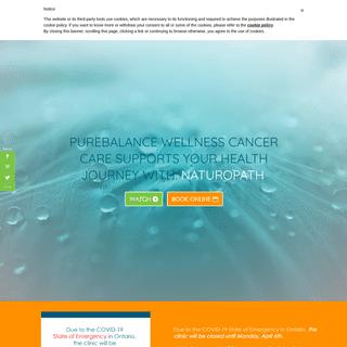 pureBalance Wellness Cancer Care - Port Credit - Mississauga