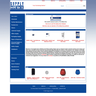 Supply Source - Your Purchasing Partner