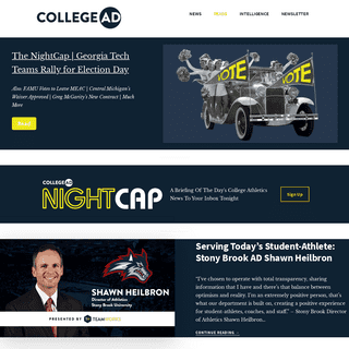 News and Resources in College Athletics Business - CollegeAD
