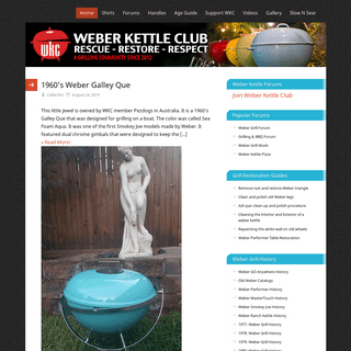 Weber Kettle Club - A Club for Weber Grill Enthusiasts