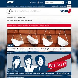 Startseite WDR 2 - WDR 2 - Radio - WDR